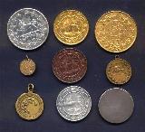 نمونه سکه های قاجاری